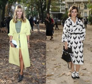 Alexandra Golovanoff vs Miroslava Duma : le manteau peignoir audacieux