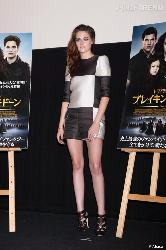 Kristen Stewart en Louis Vuitton par Marc Jacobs.