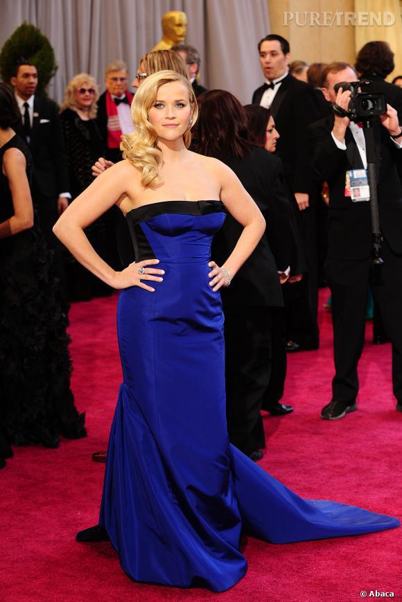 Reese Witherspoon en Louis Vuitton par Marc Jacobs.
