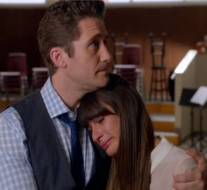Glee saison 5 : Lea Michele en larmes dans l'episode dedie a Cory Monteith