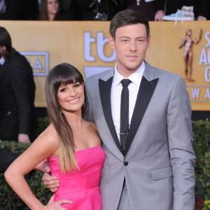 Lea Michele et Cory Monteith, couple à l'écran comme à la vie.