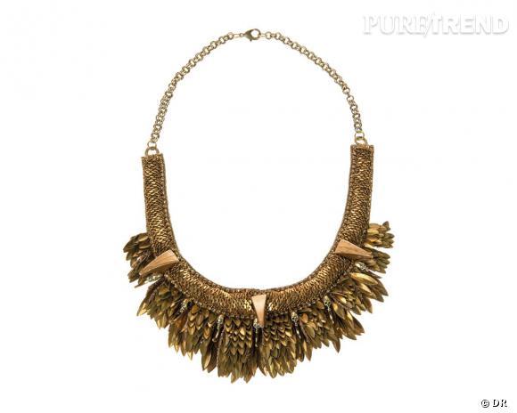 Le must have d'Amélie : collier Deepa Gurnani, 375 € chez Zalando