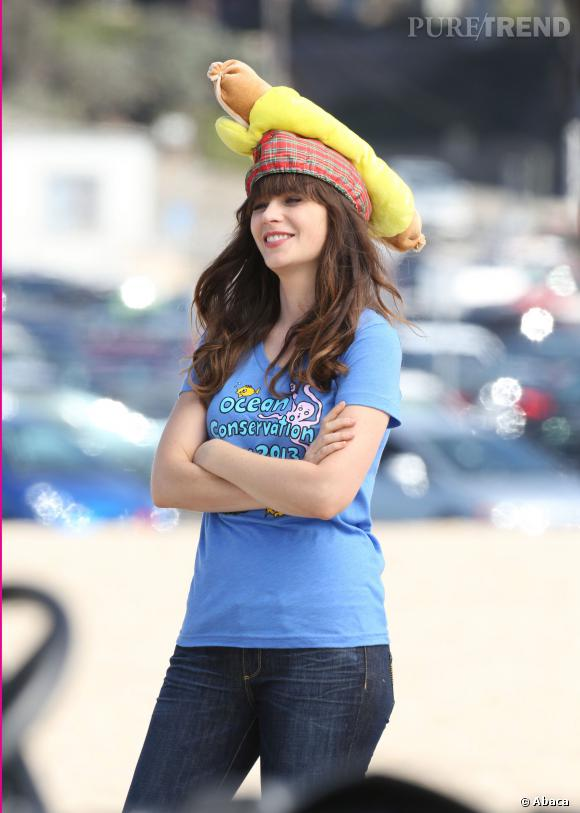 """Zooey Deschanel sur les tournages de """"New Girl"""" : un joli petit flop !"""