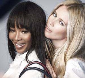 Cancer du sein : Claudia Schiffer, Naomi Campbell s'engagent avec Tommy Hilfiger