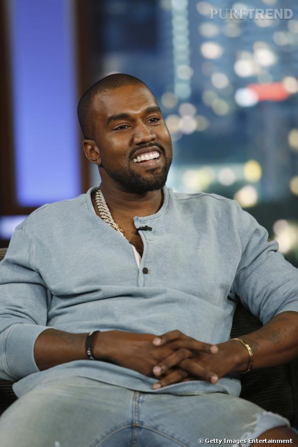 Kanye West en Ralph Lauren.