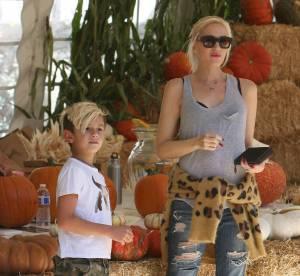 Gwen Stefani, Tori Spelling, Ian Ziering... Chasse a la citrouille en famille