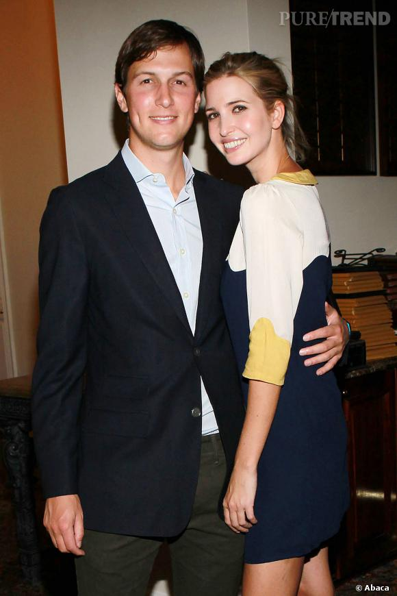 Ivanka Trump et son mari Jared Kushner ont accueilli lundi un petit garçon !