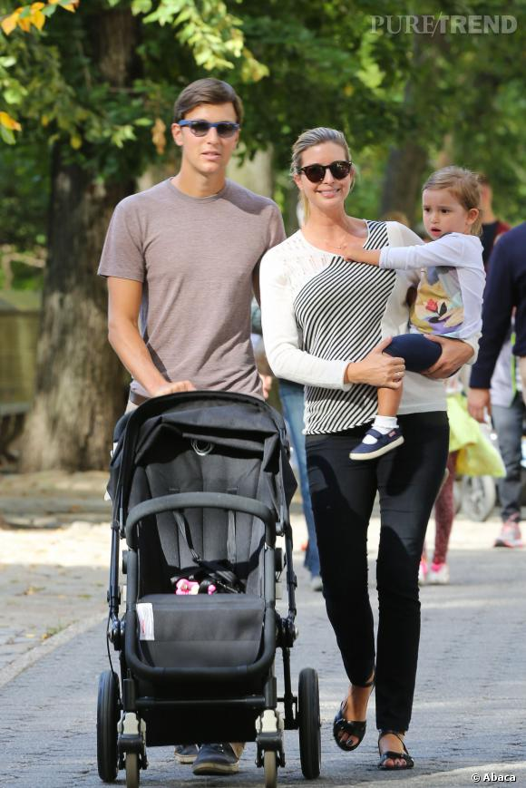 Ivanka Trump et Jared Kushner sont déjà parents d'une petite Arabella Rose.