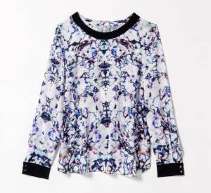 Collection Gat Rimon x Monoprix : blouse, 60 €