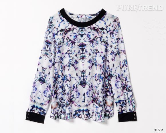 Collection Gat Rimon x Monoprix : blouse, 60 €
