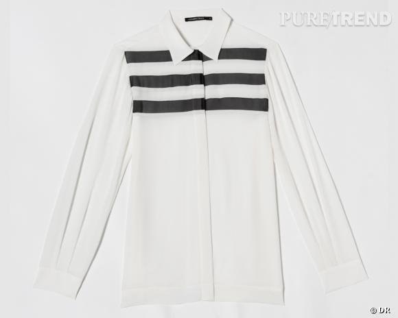 Collection Gat Rimon x Monoprix : chemise en mousseline de soie, 70 €