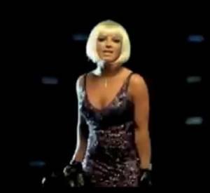 Pour Piece of Me déjà des retouches avaient été faites sur la silhouette de Britney Spears.