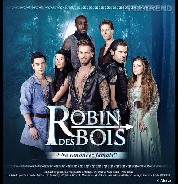 """Matt Pokora et la troupe du spectacle """"Robin des Bois"""" étaient les invités mercredi soir de l'émission """"Touche Pas à mon Poste"""" avec Cyril Hanouna."""