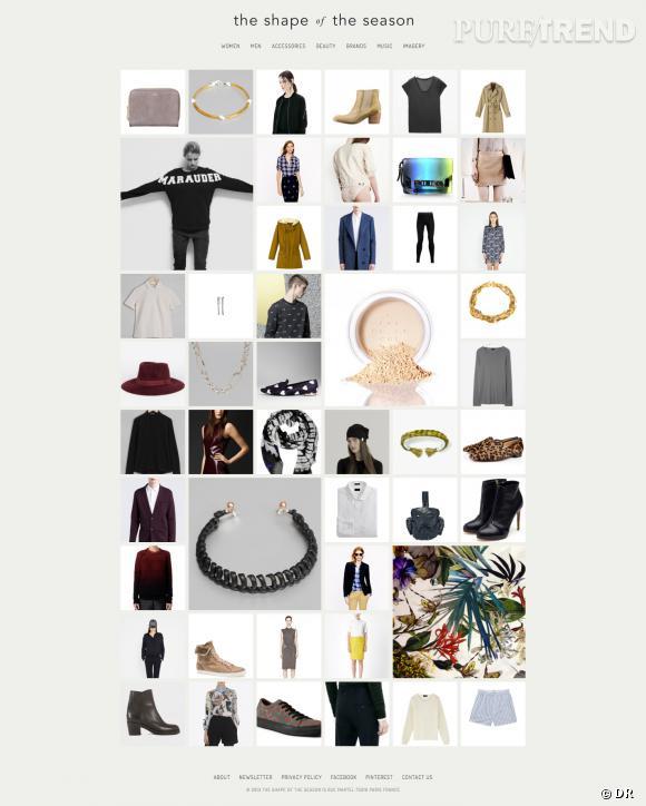 The Shape of the season, le nouveau concept store online.