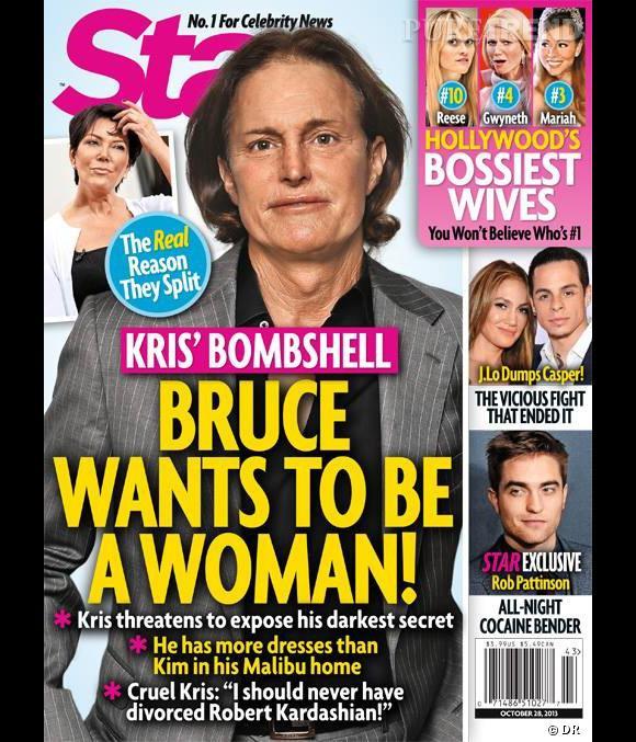 Bruce Jenner, la cible du magazine Star : il voudrait devenir une femme.