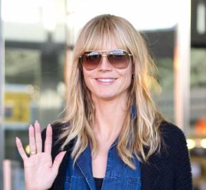 Heidi Klum : a 40 ans, l'ex-top passe a la frange