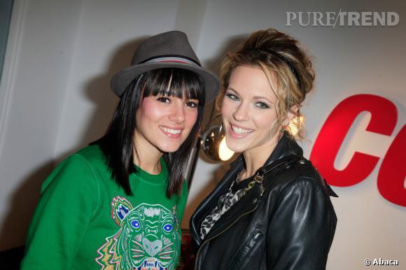 Lorie et Alizée sont également de bonnes copines dans la vraie vie.