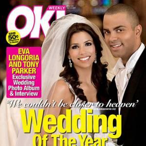 Eva Longoria et Tony Parker en couv' de OK.