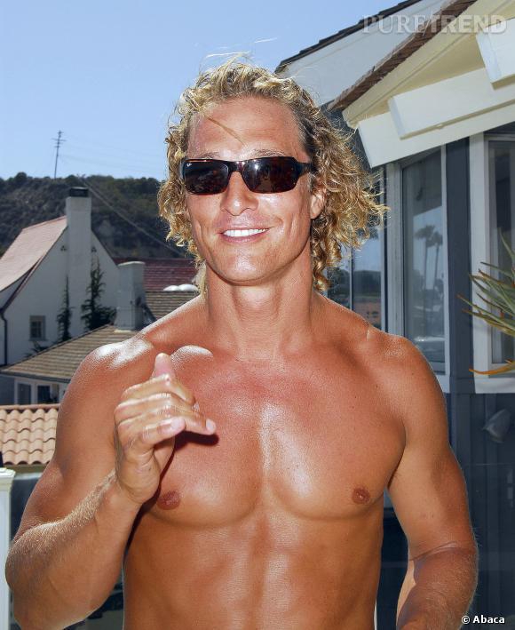 Matthew McConaughey, en mode surfeur californien... Retour sur une reconversion beauté.