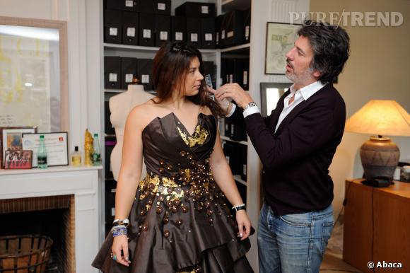 Marion Bartoli va à la pêche aux conseils pour briller au Salon du chocolat 2013.