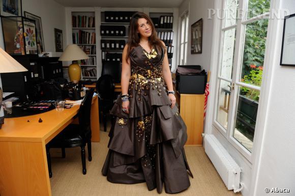 Marion Bartoli n'a pas peur des robes à volumes...