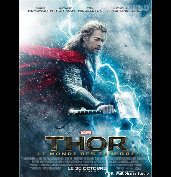 """""""Thor le monde des ténèbres"""" : au cinéma le 30 octobre."""
