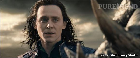 """""""Thor le monde des ténèbres"""" : Tom Hiddleston dans la peau de Loki."""