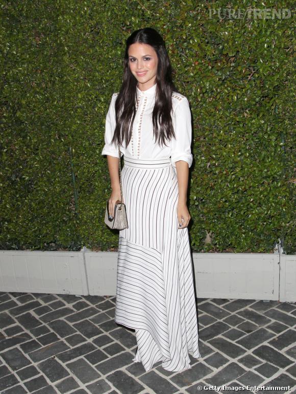 Rachel Bilson à la soirée Chloé du 29 octobre 2013 à Los Angeles. Ravissante !