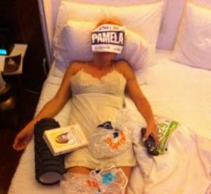 Pamela Anderson, la photo anti-glamour post Marathon de New York 2013