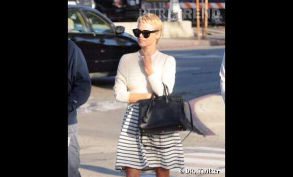 Pamela Anderson a récemment coupé ses cheveux. Une bonne chose.