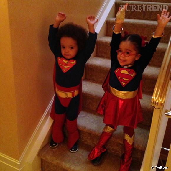 Mariah Carey a un joli lot de super-héros !