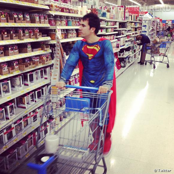 Alex Goude a fait sensation dans son costume d'Halloween.
