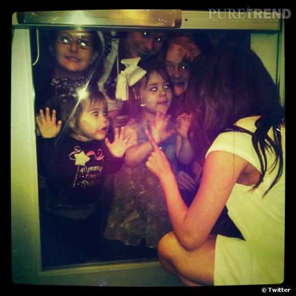 Selena Gomez a des fans de tous les âges !