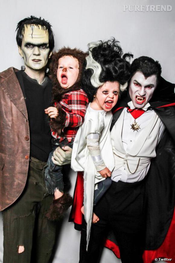 Neil Patrick Harris et sa famille ne se lassent décidement pas d'Halloween.