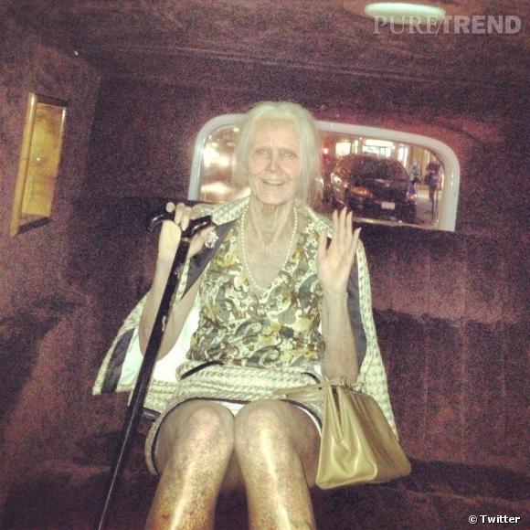 Heidi Klum a encore très bien réussi son costume d'Halloween !