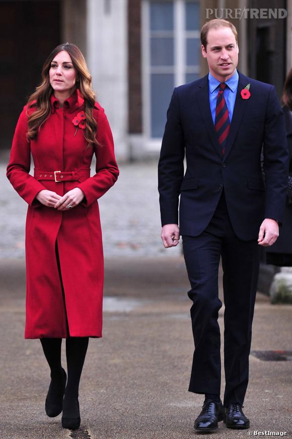 C'est dommage, Kate et William avaient pourtant fait attention à leurs tenues respectives. Ils sont très élégants.