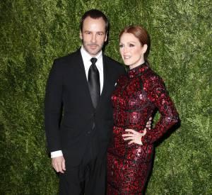 Tom Ford et Julianne Moore à la cérémonie des CFDA/Vogue Fashion Fund Awards 2013.
