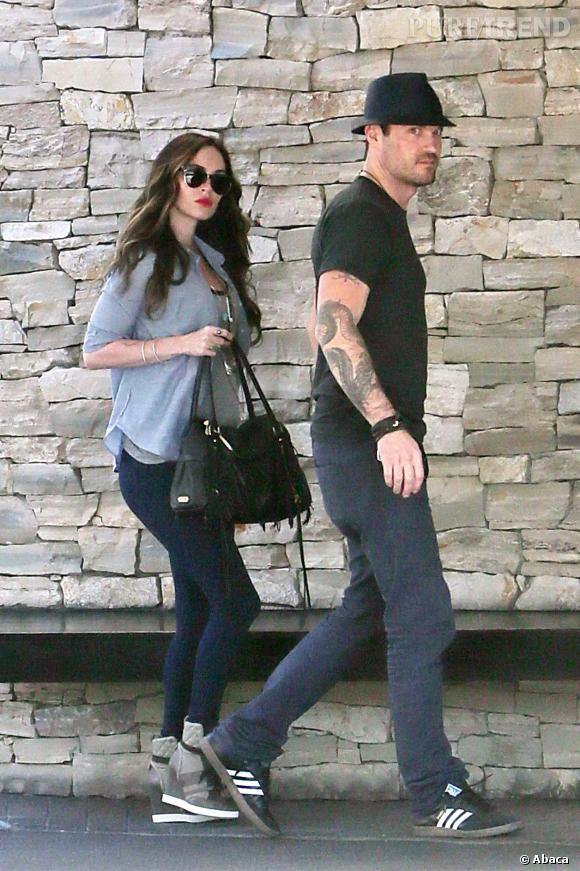Megan Fox et Brian Austin Green profitent d'une sortie en amoureux, même si c'est sous l'oeil des paparazzis.