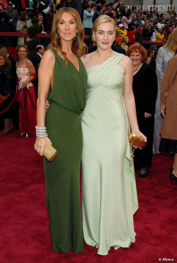 Céline Dion et Kate Winslet se retrouve sur le red carpet 10 ans parès la sortie du film.