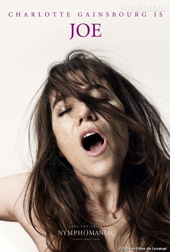"""""""Nymphomaniac"""" : l'affiche de Charlotte Gainsbourg dans la peau de Joe."""