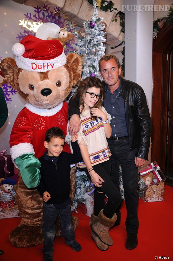Ici avec sa fille Ninon, alors agée de 13 ans.