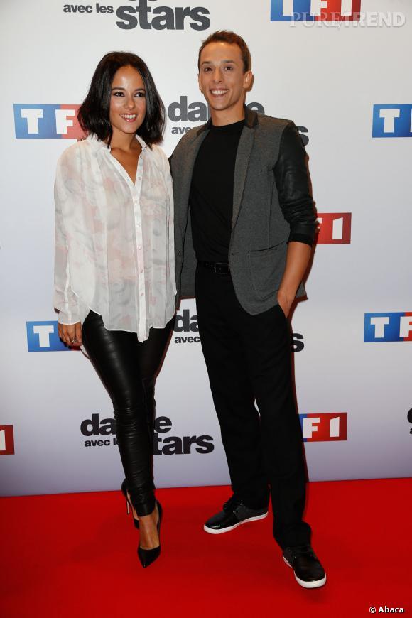Alizée et Grégoire au début de l'émission : une histoire débute...