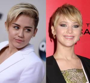 Jennifer Lawrence VS Miley Cyrus : les photos nues, Liam... C'est la guerre !
