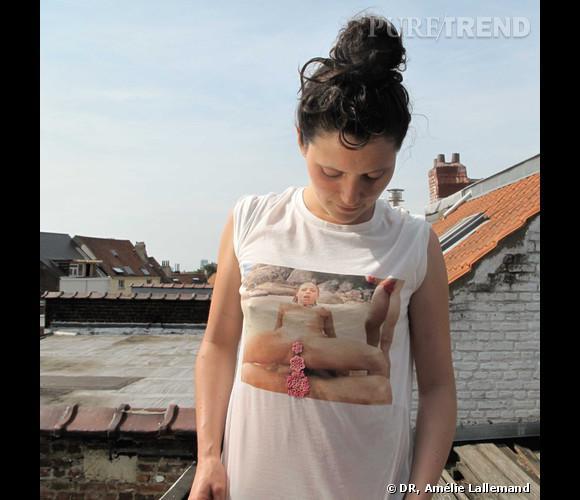 Les t-shirts porno friendly d'Amélie Lallemand.