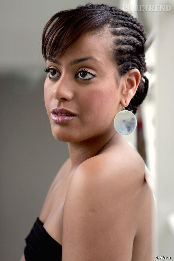Amel Bent lors d'un shooting photo en 2005 - Puretrend