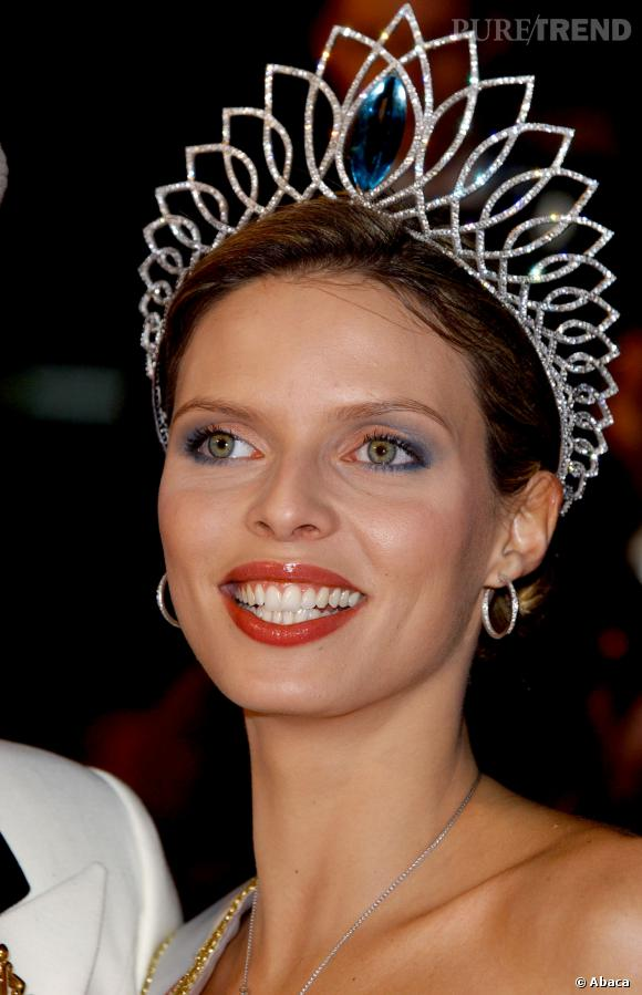 Sylvie Tellier Miss France 2002.