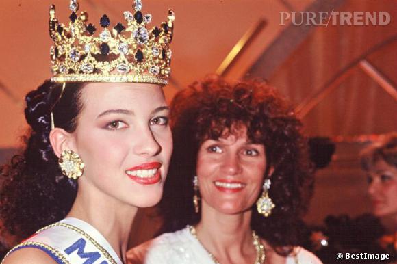 Linda Hardy Miss France 1992.