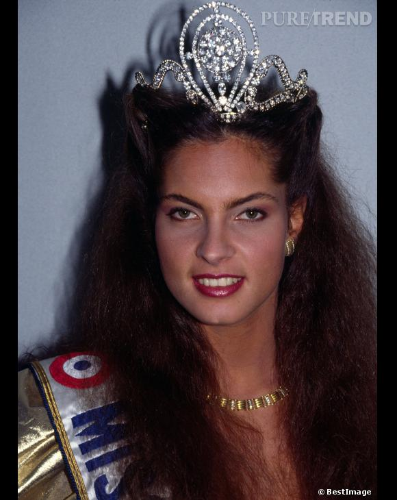 Mareva Georges Miss France 1991.