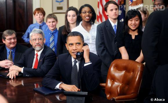 Barack Obama privé d'iPhone !