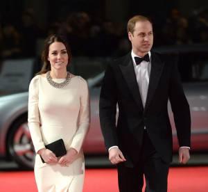 Kate Middleton et le Prince William, très émus à la première de Mandela